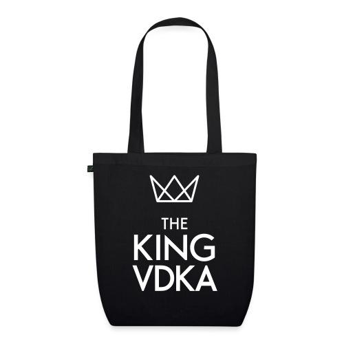 The King VDKA Logo weiss - Bio-Stoffbeutel