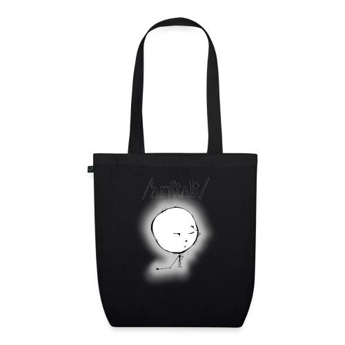 kreisling mit logo (schwarz) - Bio-Stoffbeutel