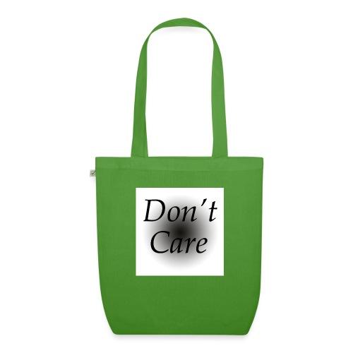 Don't care quote tas - Bio stoffen tas