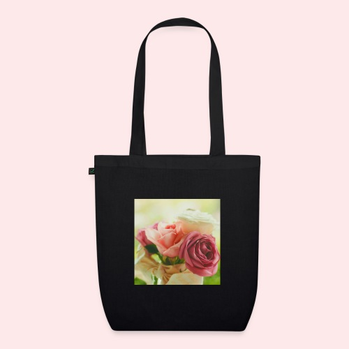pink roses fl sq jpg - EarthPositive Tote Bag