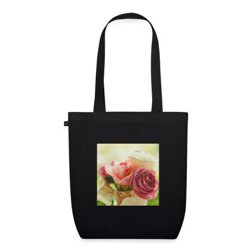 pink roses fl sq jpg - EarthPositive Tote Bag
