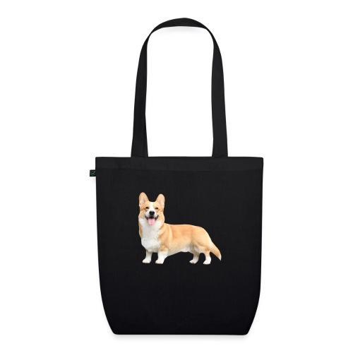 Topi the Corgi - Sideview - EarthPositive Tote Bag