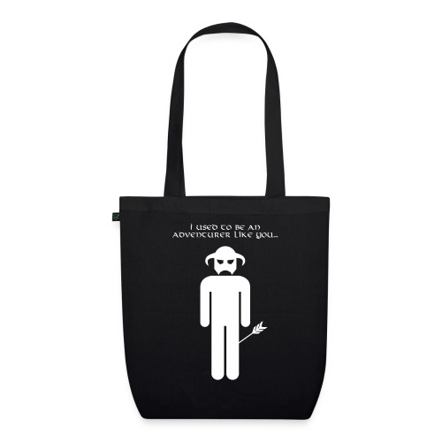 I used to be an adventurer like you... - EarthPositive Tote Bag