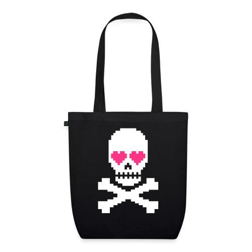 Skull Love - Bio stoffen tas