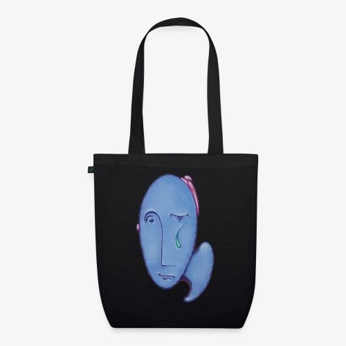 Mr Blue - EarthPositive Tote Bag