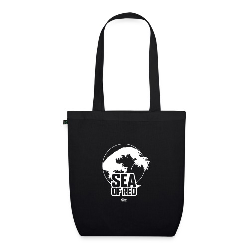 Sea of red logo - white - EarthPositive Tote Bag