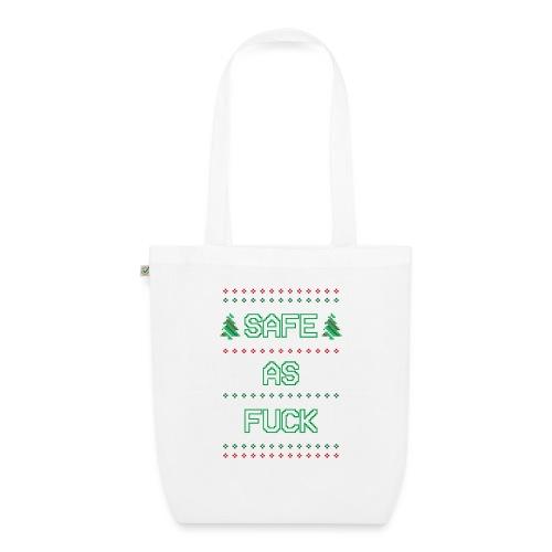 Christmas Jumper Safe AF - EarthPositive Tote Bag