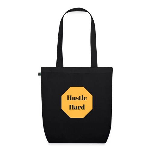 hustle hard - Bio-Stoffbeutel