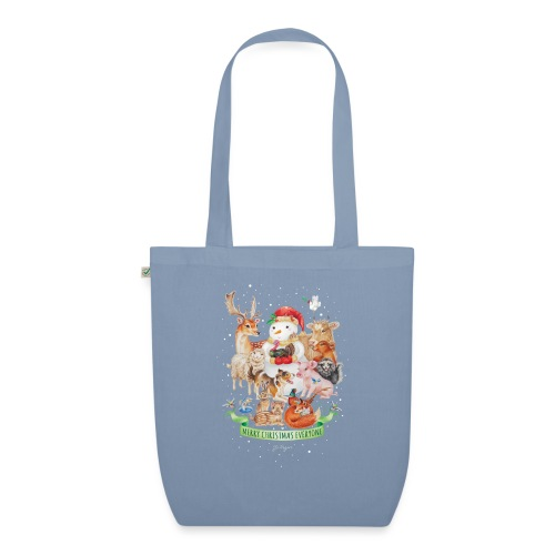 Vegan Christmas - EarthPositive Tote Bag