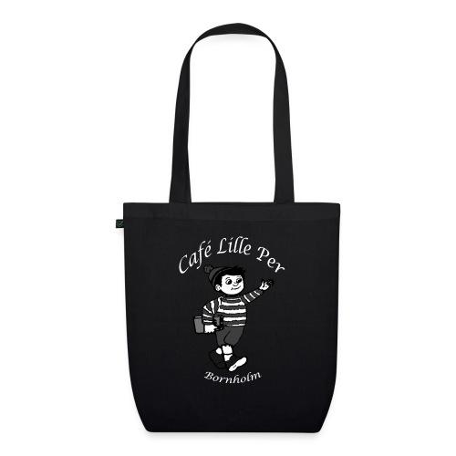 Cafe LillePer Logo BW - Øko-stoftaske