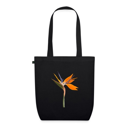 Strelitzie Papageienblume Paradiesvogelblume - Bio-Stoffbeutel