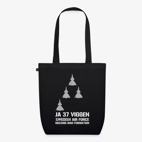 JA 37 Viggen - Missing Man Formation - Ekologisk tygväska