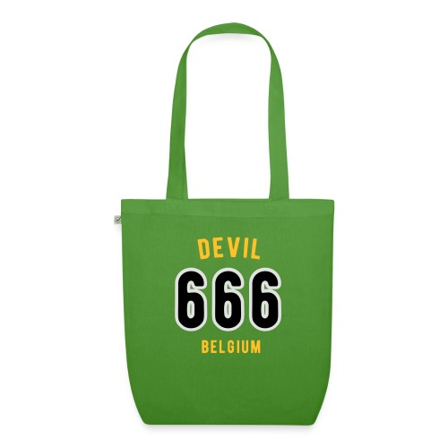 666 devil Belgium - Sac en tissu biologique