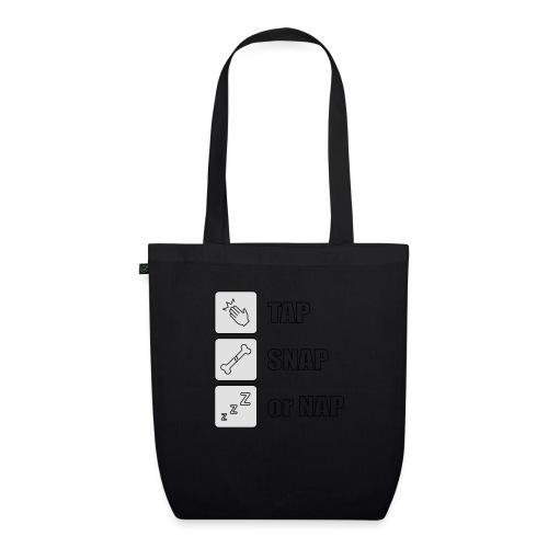 tap snap or nap - Ekologiczna torba materiałowa