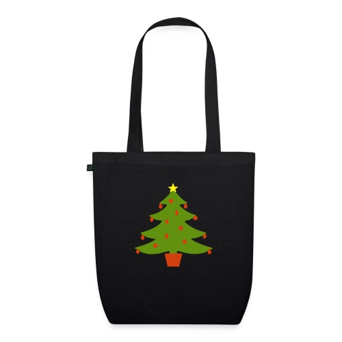 Christmas Tree - EarthPositive Tote Bag