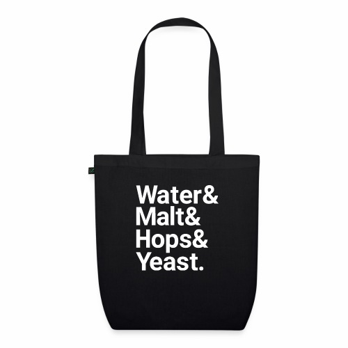 Water,Malt,Hops & Yeast - EarthPositive Tote Bag