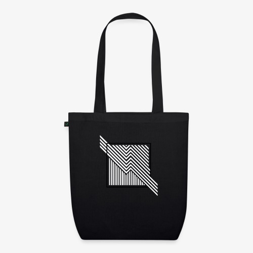 Lines in the dark - EarthPositive Tote Bag