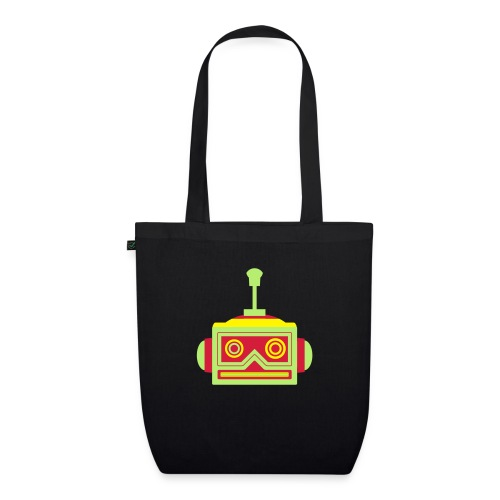 Robot head - EarthPositive Tote Bag
