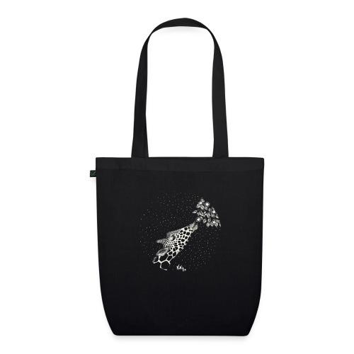 Giraffe eating stars (sin fondo) - Bolsa de tela ecológica