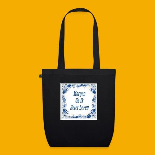 delft blauw - Bio stoffen tas
