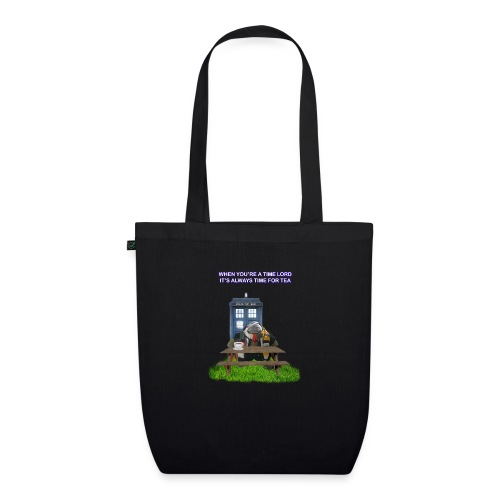 TIME AND SPACE AND TEA - EarthPositive Tote Bag
