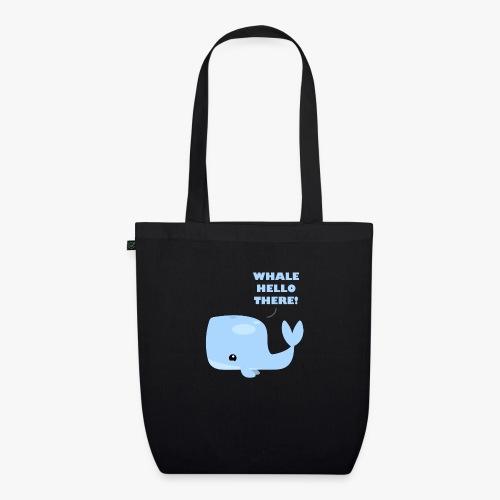Whale Hello There - Øko-stoftaske