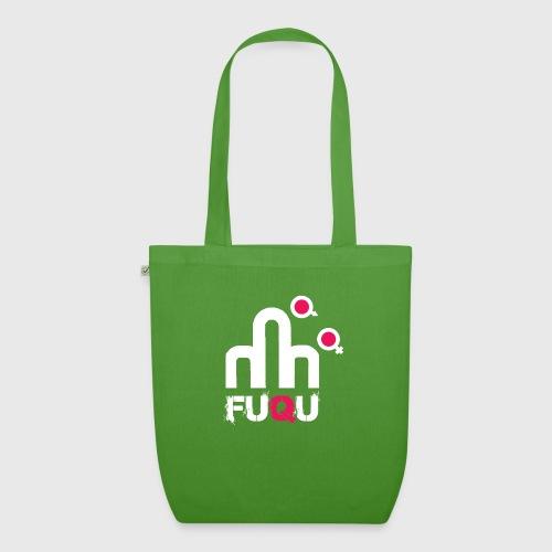 T-shirt FUQU logo colore bianco - Borsa ecologica in tessuto