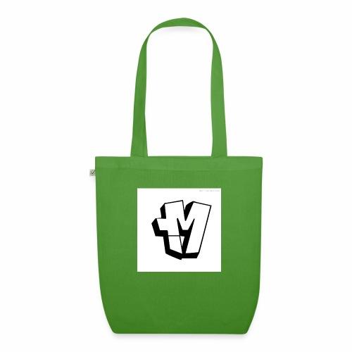 graffiti alphabet m - EarthPositive Tote Bag