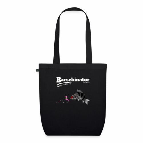 Barschinator - Barsch Angeln - Fishyworm - Bio-Stoffbeutel