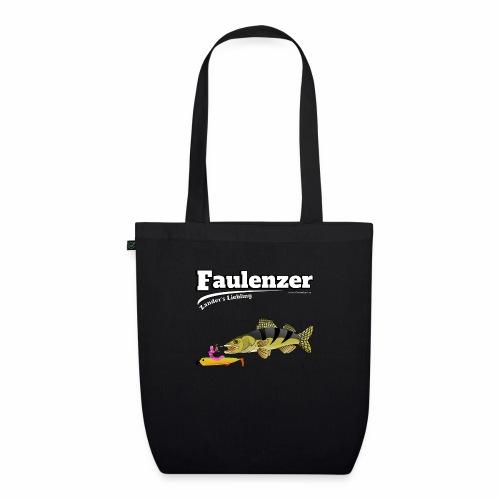 Faulenzer - Zander Liebling - Fishyworm - Bio-Stoffbeutel