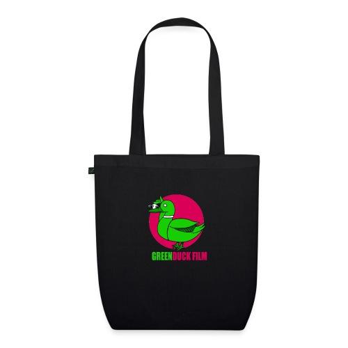 Greenduck Film dark pink Sun Logo - Øko-stoftaske