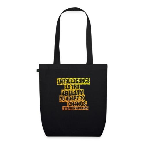 Stephen Hawking - Intelligence - EarthPositive Tote Bag