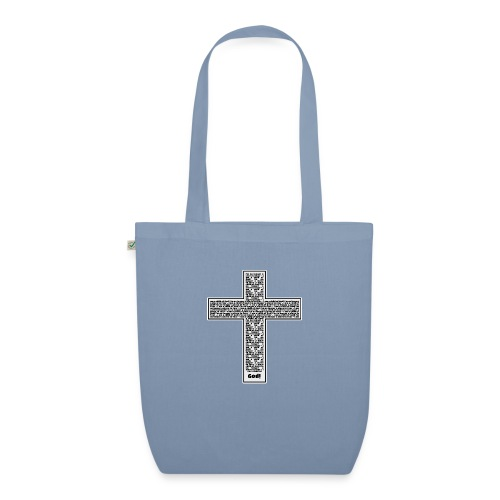 Jesus cross. I'm no longer a slave to fear. - EarthPositive Tote Bag
