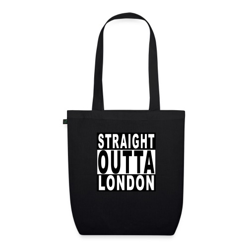 STRAIGHT OUTTA LONDON - EarthPositive Tote Bag