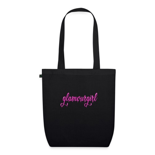 Glamourgirl dripping letters - Bio stoffen tas
