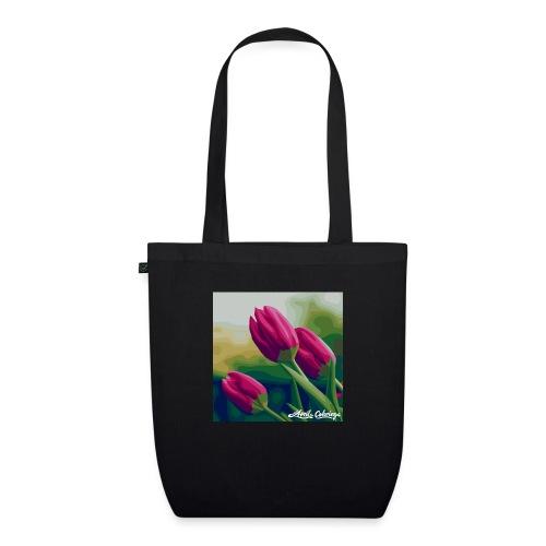 Blomster - Øko-stoftaske