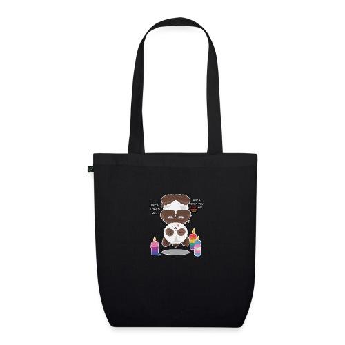 Panda Love - Øko-stoftaske