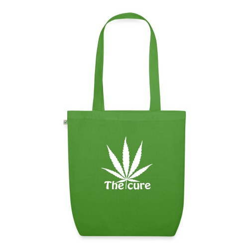 The cure of cannabis leaf. - EarthPositive Tote Bag