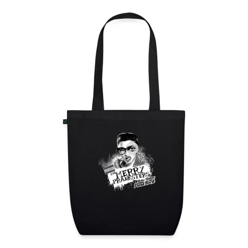 The Merry Pranksters Standard - Black T-Shirt - EarthPositive Tote Bag