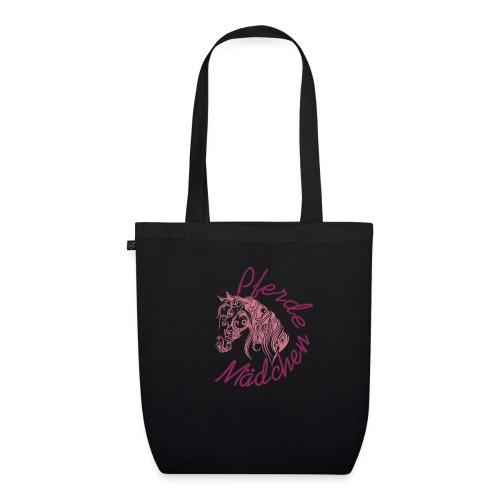 Pferde Mädchen Reiten Voltigieren Shirt Geschenk - Bio-Stoffbeutel