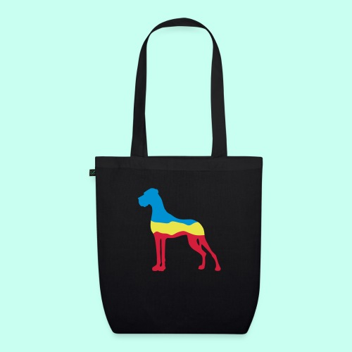 Flaggen Dogge - Bio-Stoffbeutel