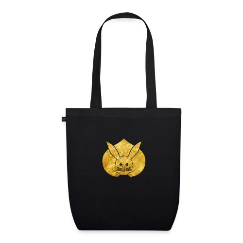 Usagi kamon japanese rabbit gold - EarthPositive Tote Bag