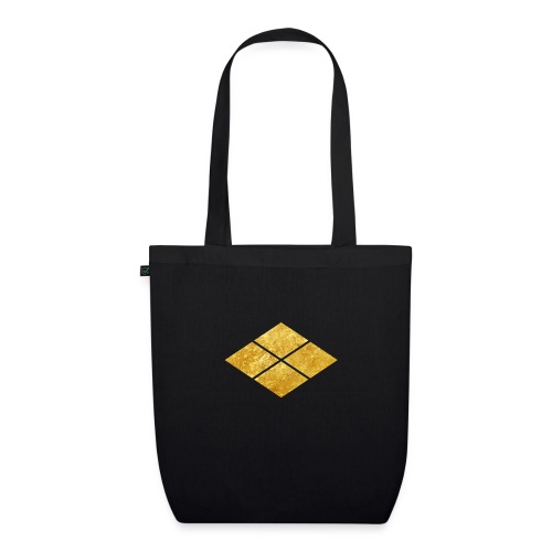Takeda kamon Japanese samurai clan faux gold - EarthPositive Tote Bag