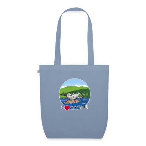 I heart Scotland - Sutherland & Caithness - EarthPositive Tote Bag