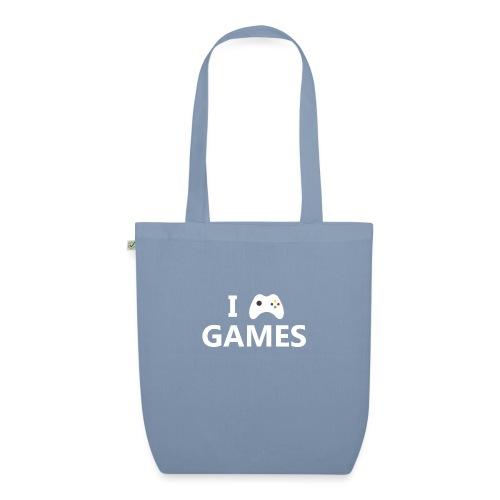 I Love Games 2 - Bolsa de tela ecológica