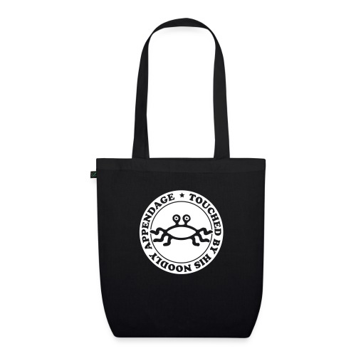 Touched by His Noodly Appendage - EarthPositive Tote Bag