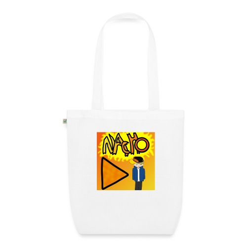 Nacho Title with Little guy - EarthPositive Tote Bag