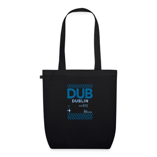 Dublin Ireland Travel - EarthPositive Tote Bag
