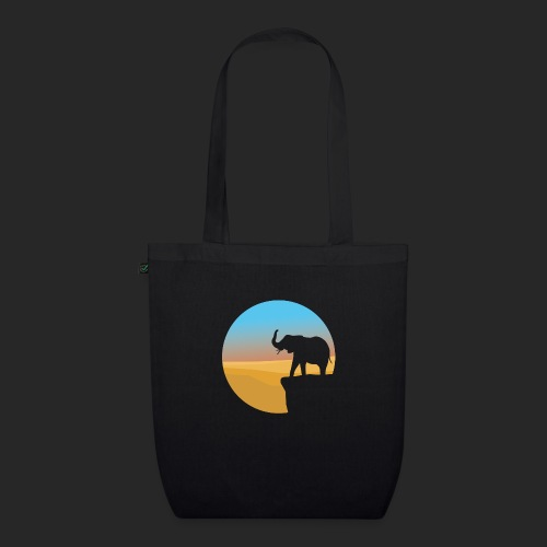 Sunset Elephant - EarthPositive Tote Bag