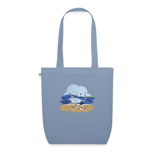 See... birds on the shore - EarthPositive Tote Bag